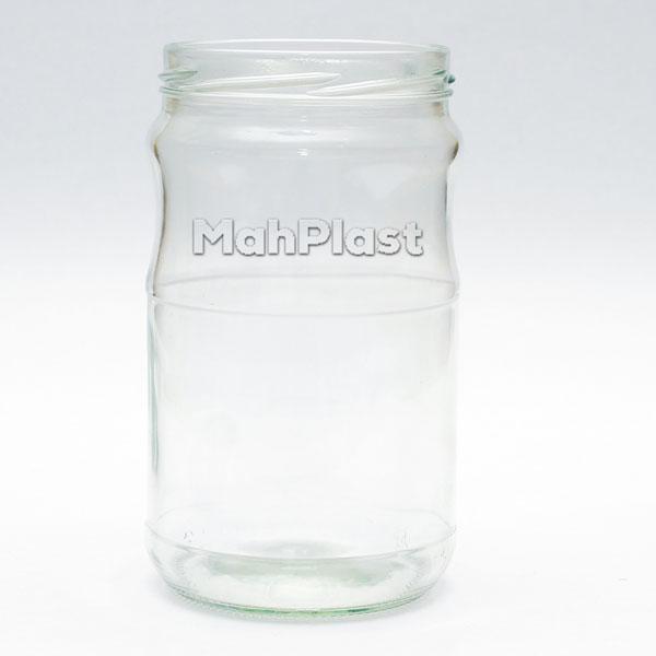 شیشه غذایی (بطری جار) 750 سی سی دهانه