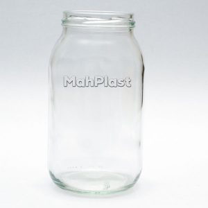شیشه غذایی (بطری جار) ۷۵۰ سی سی دهانه ۶۷ |شیشه مربا | شیشه سس مایونز